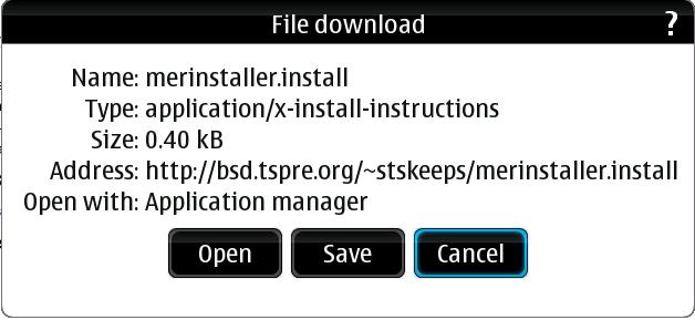 Download Screen