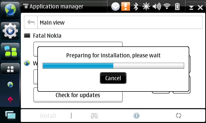 Mer Install